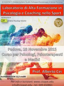 Prof. Alberto Cei 24 Novembre 2015